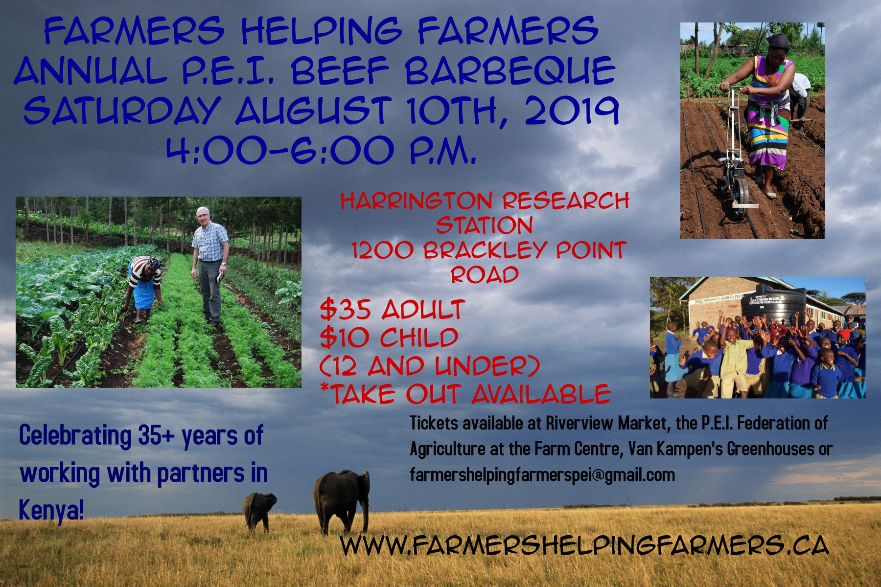 Farmers Helping Farmers | Globally-minded people from P E I
